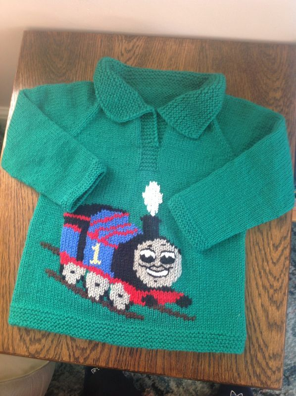 Thomas The Tank Engine Pullover Baby Boy Knits Pinterest