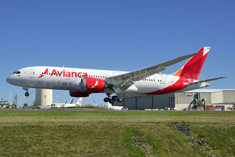 Avianca To Deploy 787 On London Route Boeing 787 Avianca Colombia Boeing