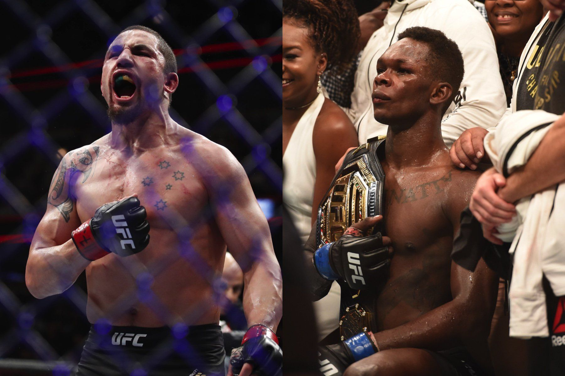 Israel Adesanya is sure that he got into the head of Robert Whittaker again.