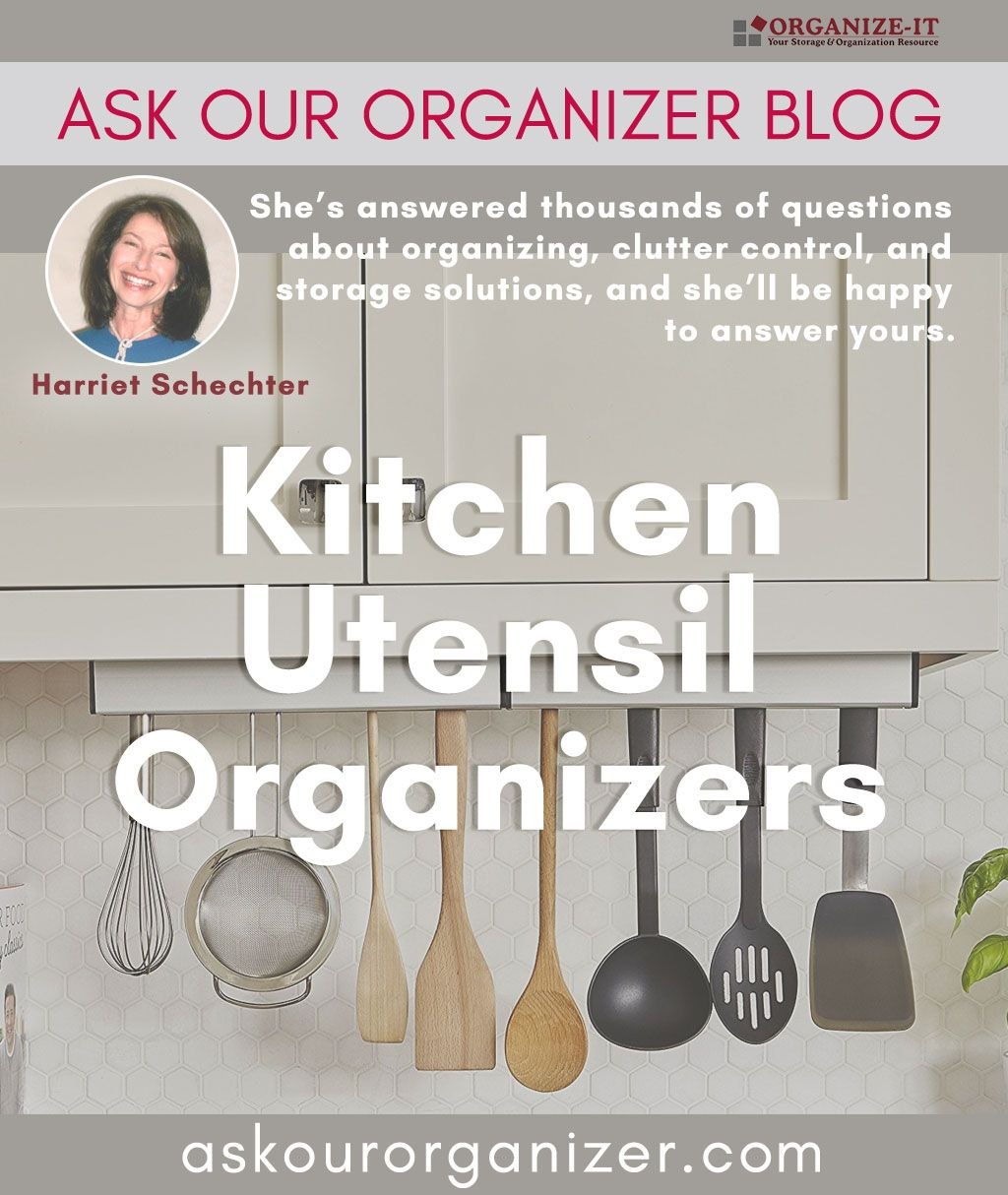 kitchen utensil organizers from the ask our organizer blog an rh pinterest com