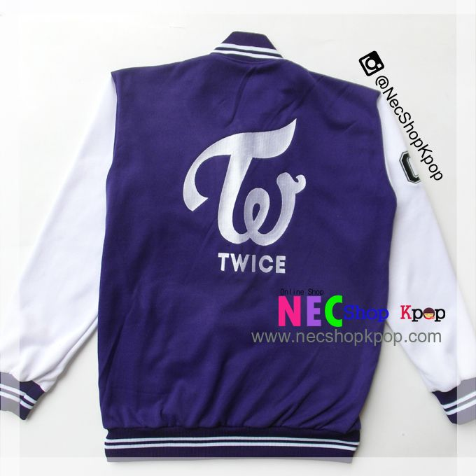 Nec Shop Kpop: Official Twice Varsity Jacket – Twice Goods