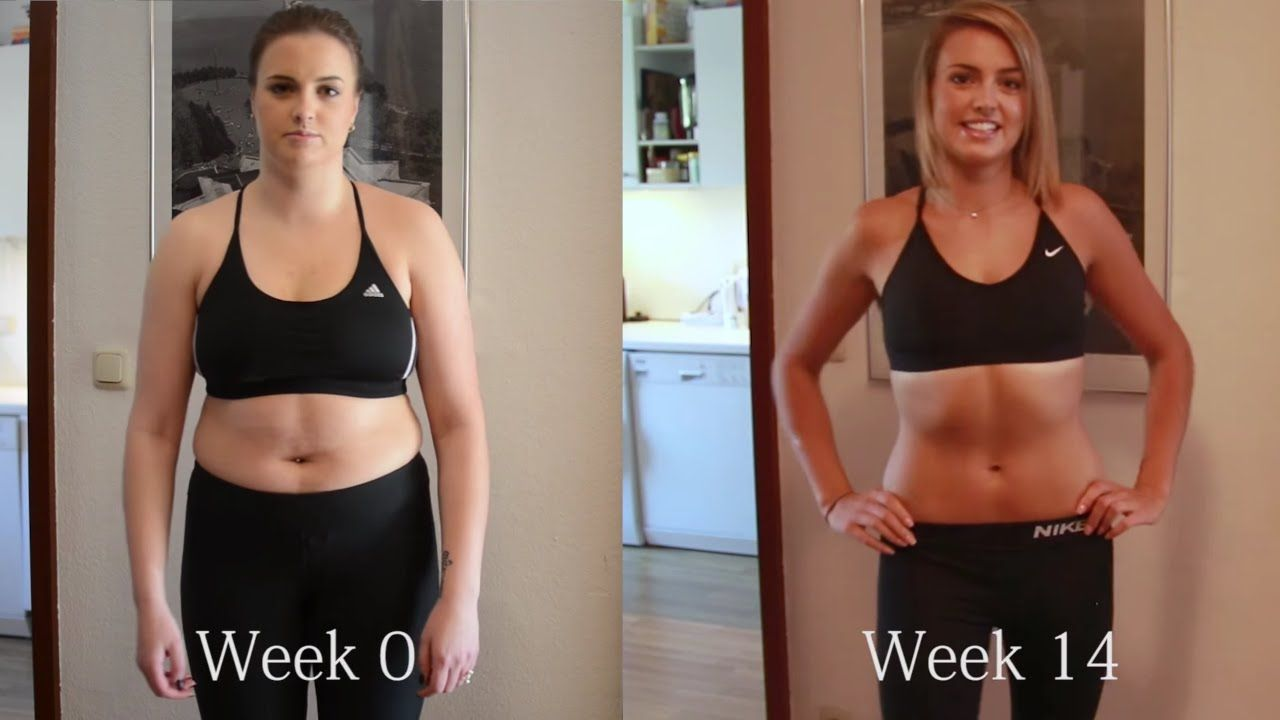 My WEIGHT LOSS BODY TRANSFORMATION in 14 WEEKS with