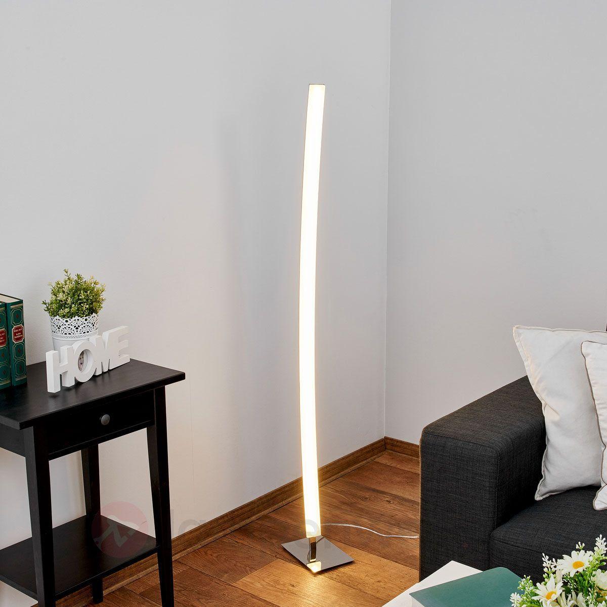 Schmale Led Stehlampe Lorian Sicher Bequem Online Bestellen Bei