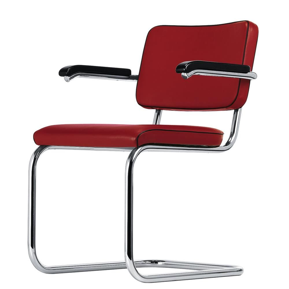 Esthetic Designer Chair Red Esthetics Designs Thonet Freischwinger Stuhl Design