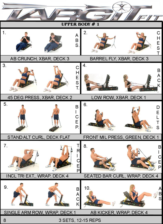 Upper body workout chart upper body workouts pinterest upper upper body workout chart geenschuldenfo Choice Image