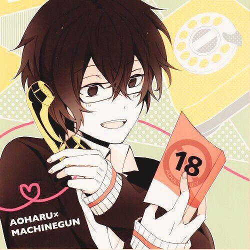Aoharu x Kikanjuu - Yukimura Toru - I want to do some  things of this book with him ...(: