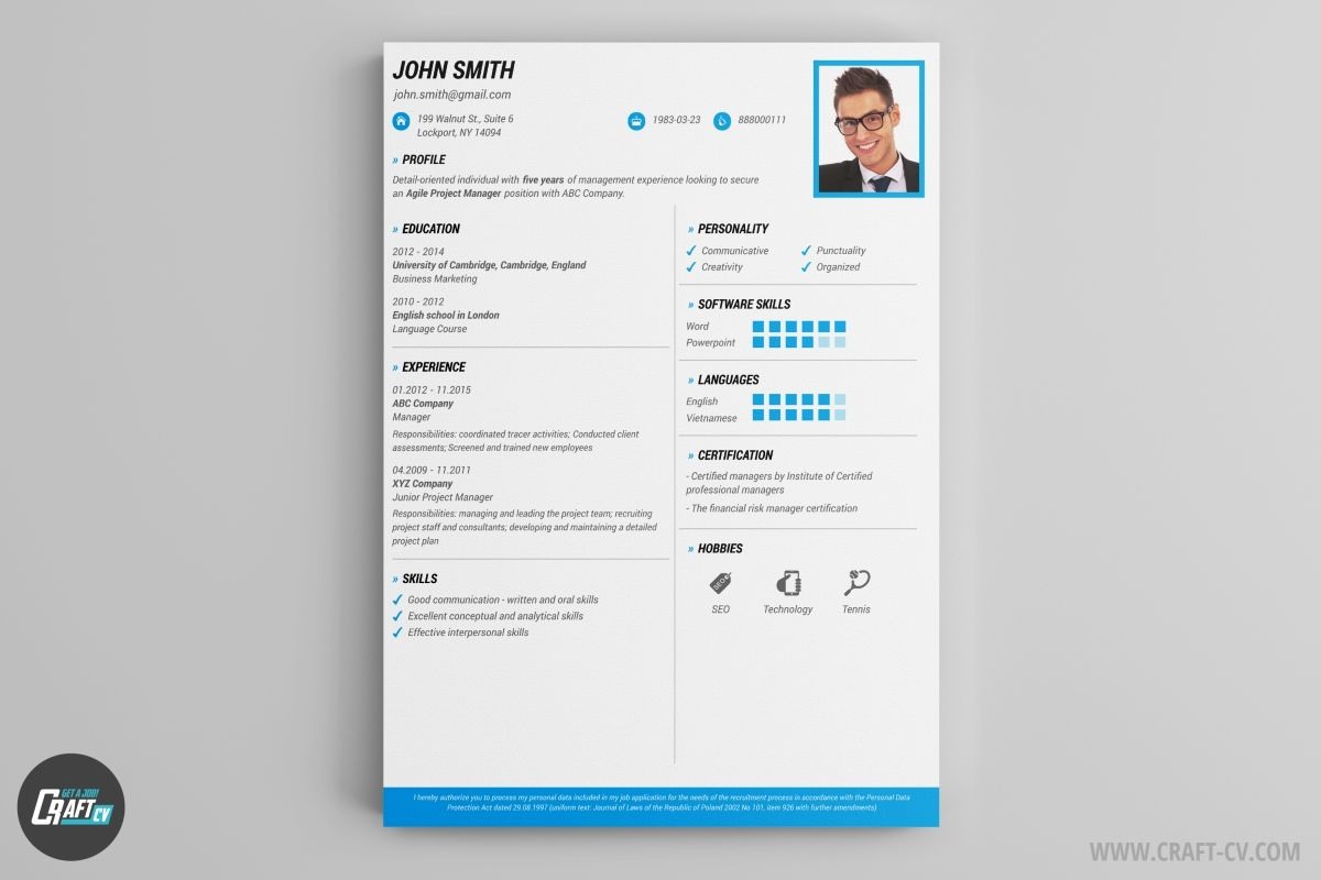 Free Download Manager 3 0 Build 848 Final Promfecta Creative Cv Template Creative Resume Templates Cv Template