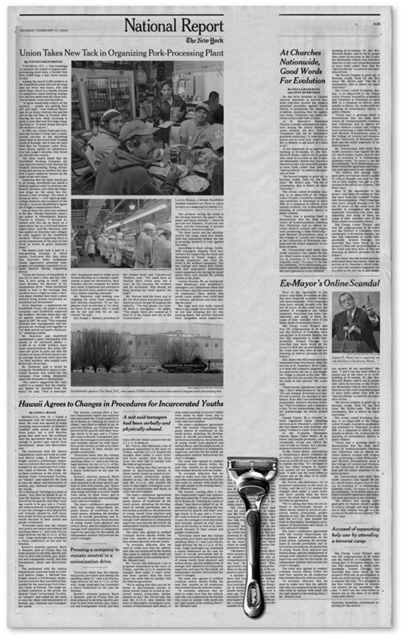 Hannah-Journaux-Aux fin du livre le Persan lis les journaux quand Erik viens a lui parler. Trois semaines apres ca, le journaux dis que Erik est mort.<Trois semaines plus tard, les lecteurs du journal l'Epoque lisaient dans la rubrique necrologique ce bref et mysterieux message:<Erik est mort.>> (pg 71)