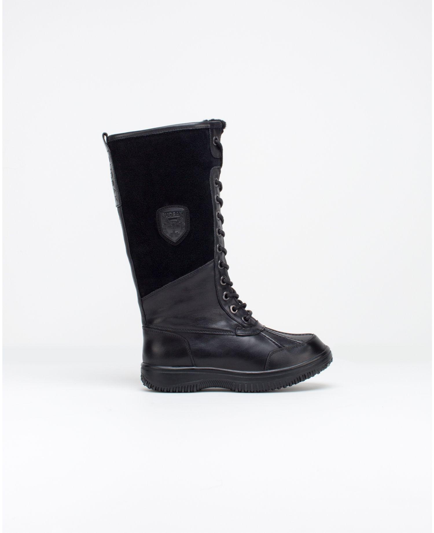 bottes hiver femme noir