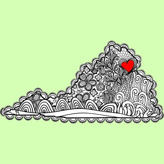 i heart virginia nova coloring page george mason gmu university of mary washington umw