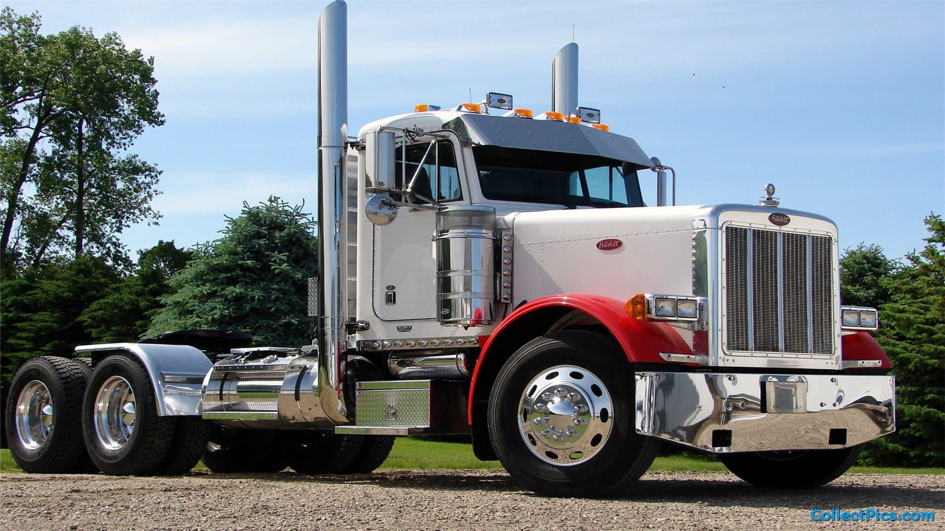 Peterbilt Truck Wallpaper Hd 1920x1080 With Images Peterbilt