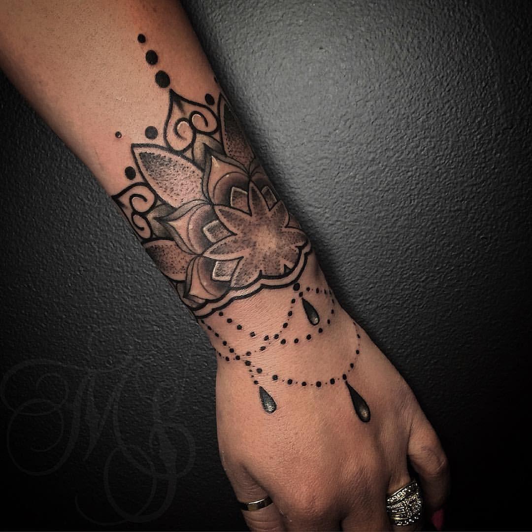Fresh Wtfdotworktattoo Find Migelly Wrist Mandala Thank You