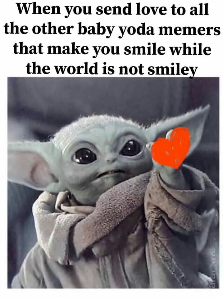 Pin By Maria Ciavarella On My Board About Baby Yoda In 2020 Yoda Funny Yoda Wallpaper Yoda Meme