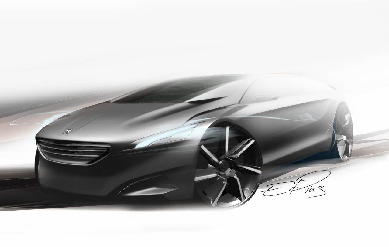 Peugeot Concept Car HX1