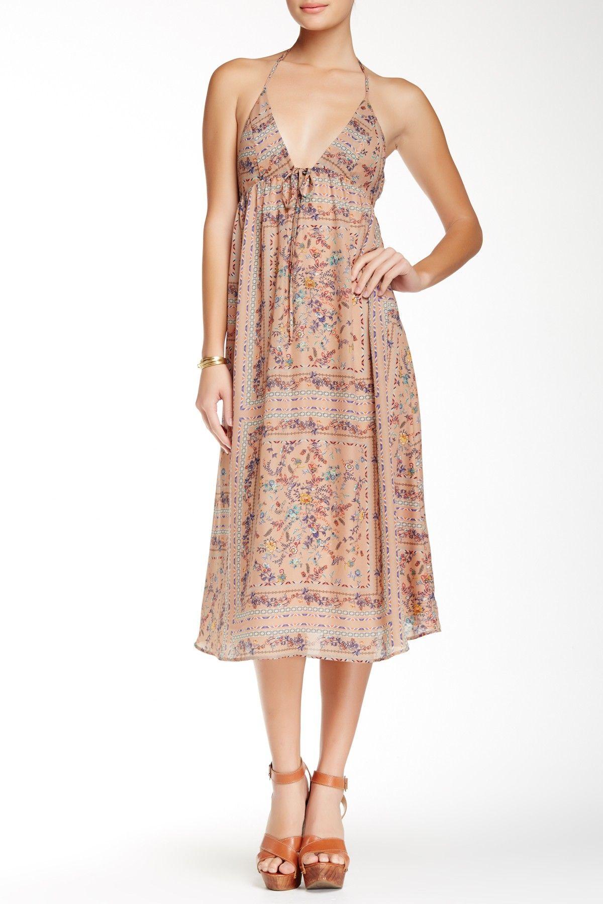 Lily White Printed Halter Dress Juniors Nordstrom Rack Printed Halter Dress Junior Dresses Sundress Dress [ 1800 x 1200 Pixel ]