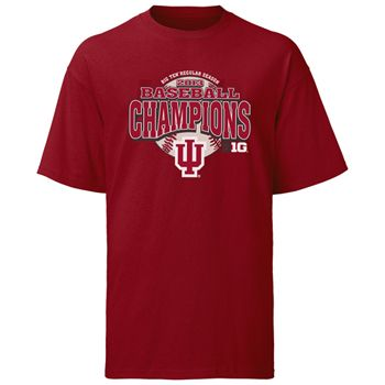 competitive price 5e350 dbf20 Indiana Hoosiers 2013 Big Ten Conference Champions T-Shirt ...