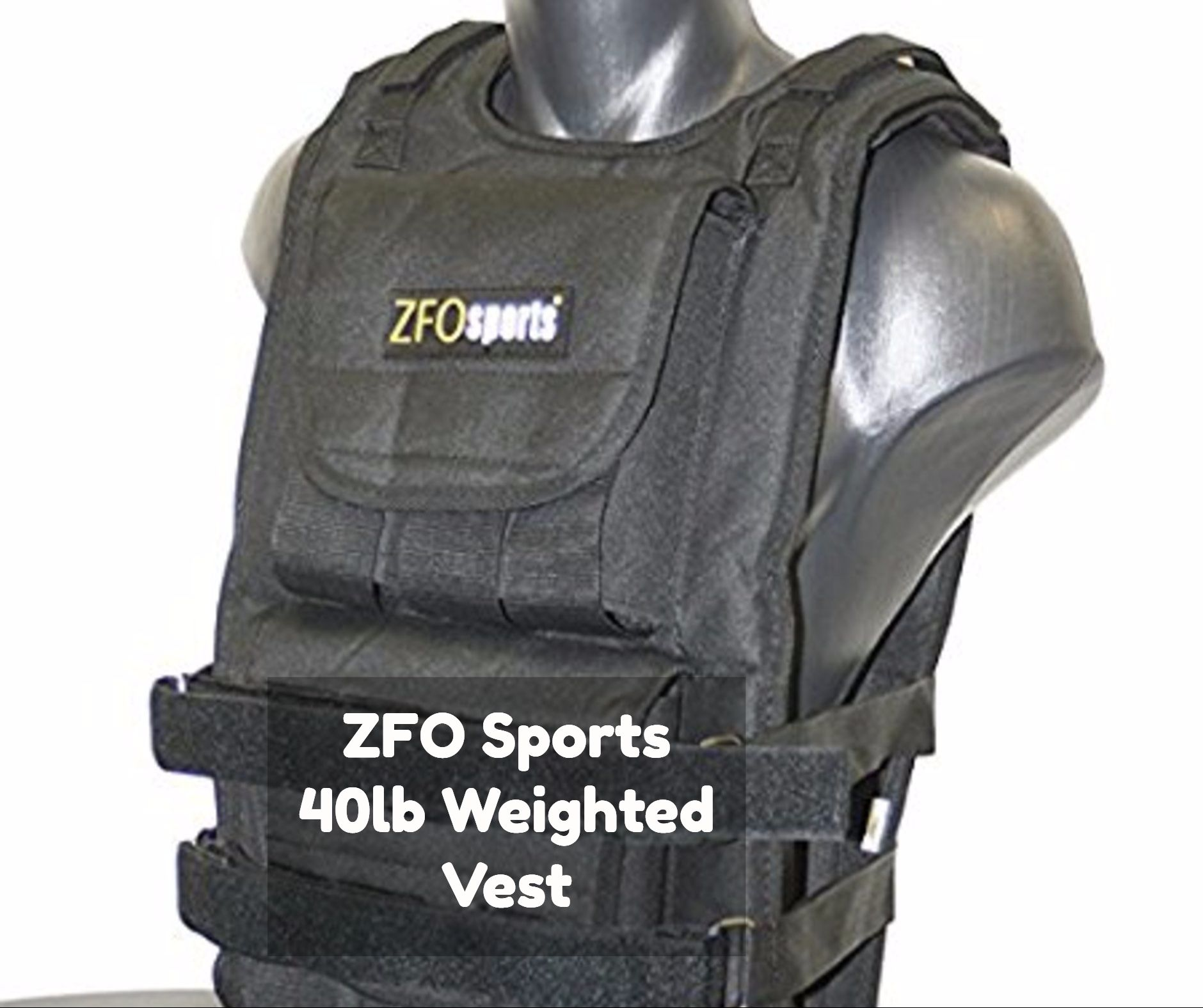 ZFO Sports 40 pound Adjustable Weighted Vest Review