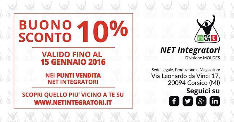 Non perdere questa occasione, iscriviti alla nostra Newsletter e riceverai un Buono Sconto del 10% che potrai utilizzare in tutti i negozi Net: http://integratorialimentarinews.com/ !
