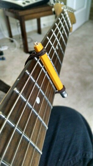 Here S My Own Version Of The Diy Guitar Capo Haha Musical Medley