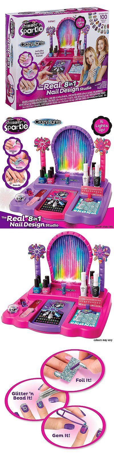 Sparkle Crazy Lights Super Nail Salon Michaelieclark