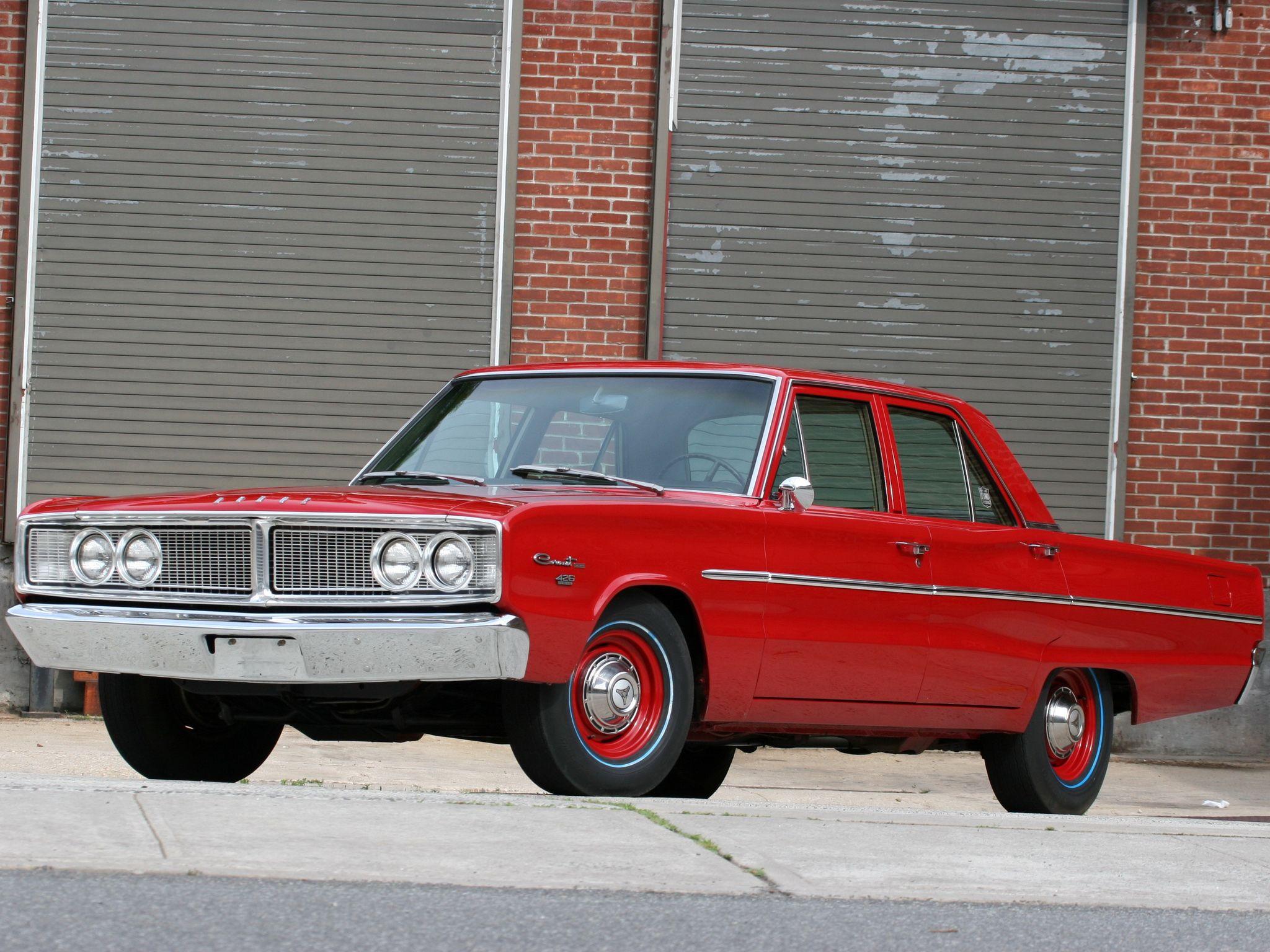 1966 dodge coronet deluxe 426 hemi 4 door sedan