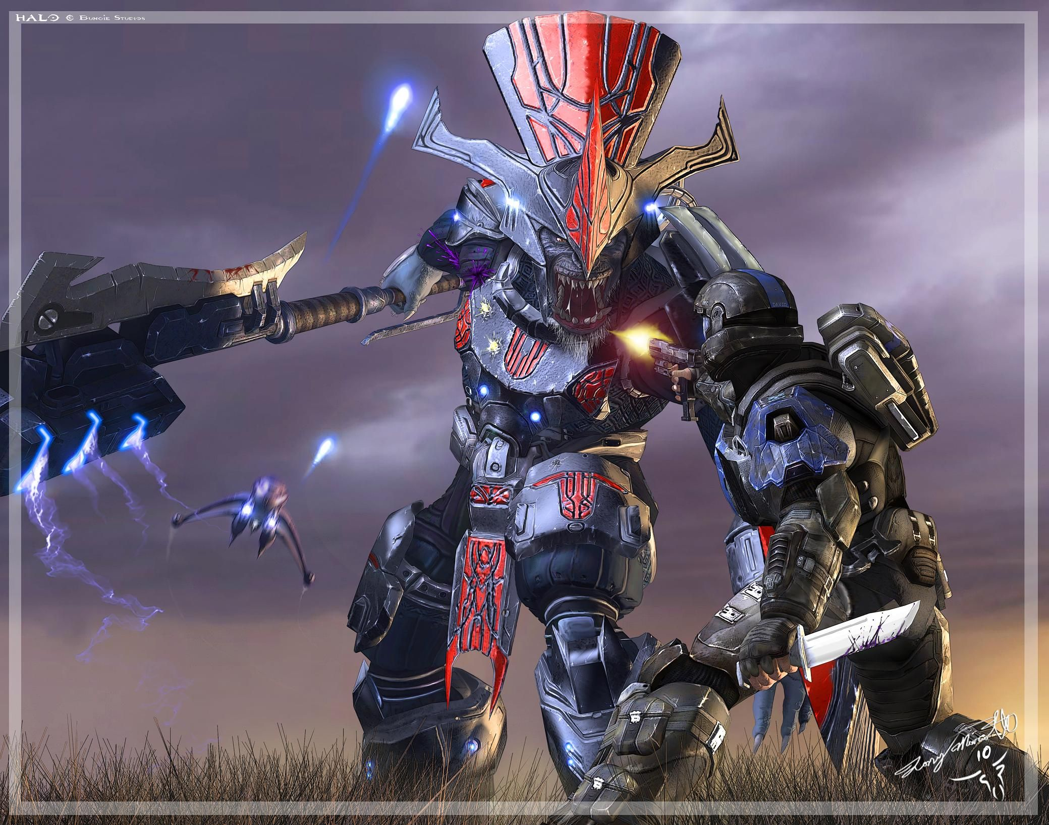 Brutes from Halo … Halo video game, Halo, Halo series