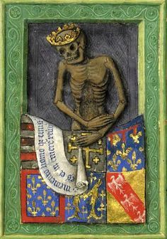 * La Mort couronnée - Heures de René d'Anjou. - Angers (France) 1437?