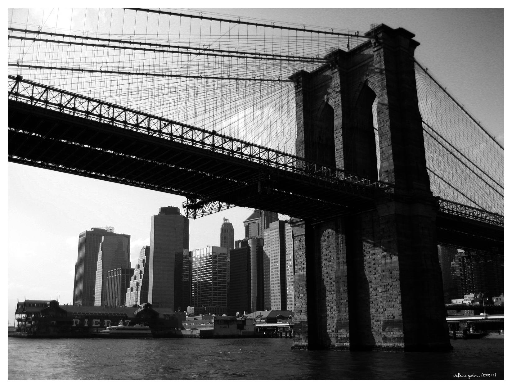 Usa Trip 06 Brooklyn Bridge By Sgalvin On Deviantart Brooklyn Bridge Travel Usa Brooklyn