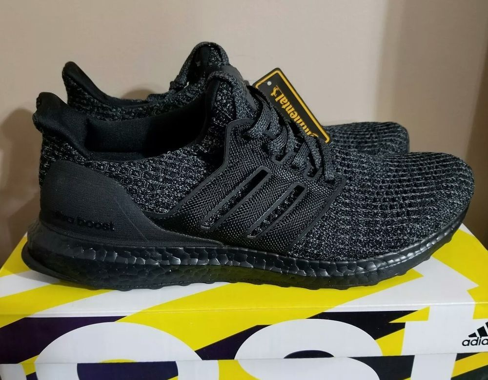 0d3b99dda4ab Adidas Ultra Boost Ultraboost 4.0 Triple All Black BB6171 Size 10.5   fashion  clothing  shoes  accessories  mensshoes  athleticshoes (ebay link)