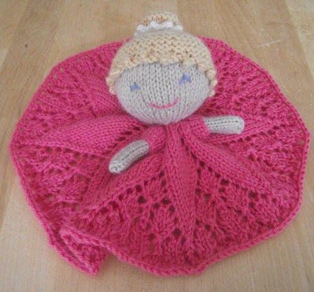 Lovey Security Blanket Knitting Patterns | Princess toys, Lace ...