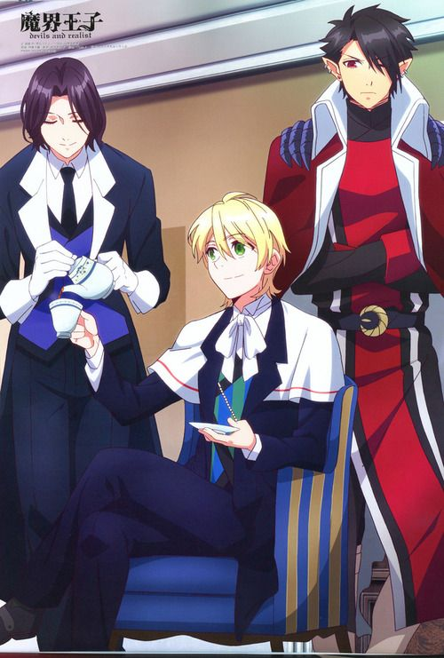 Kevin, William And Dantalion (from Makai Ouji : Devils And