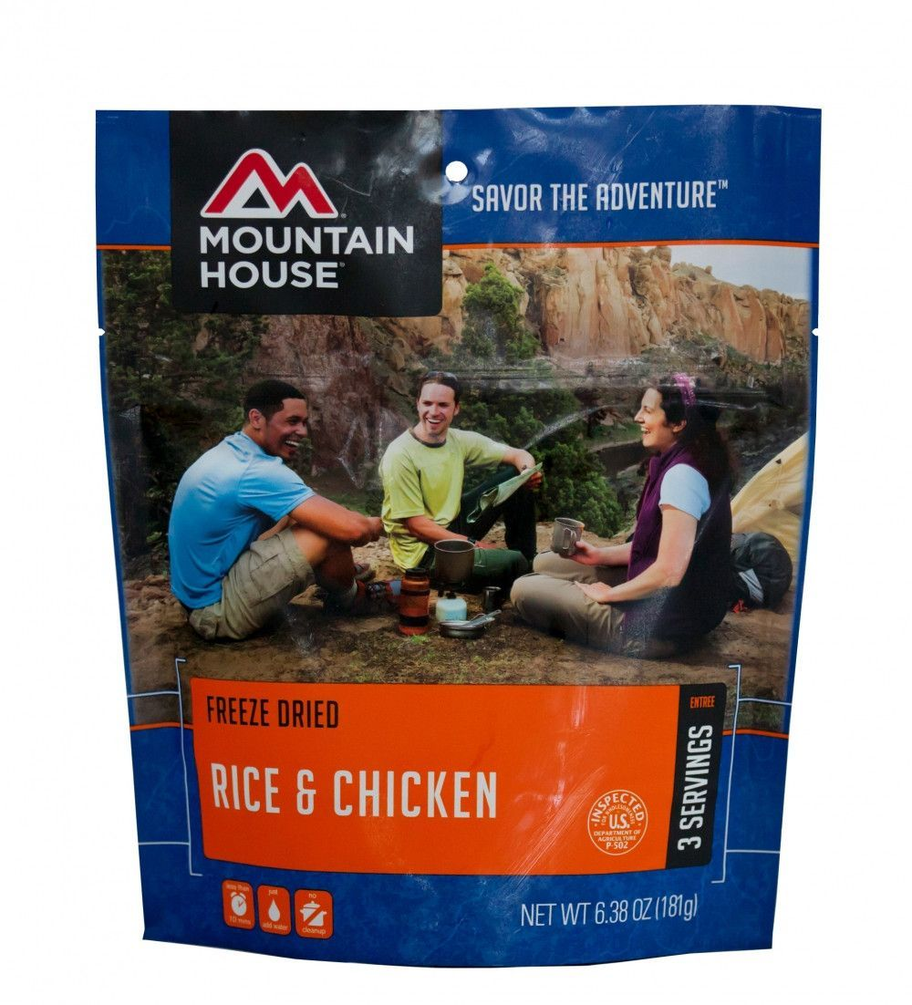 Mountain House - Rice & Chicken