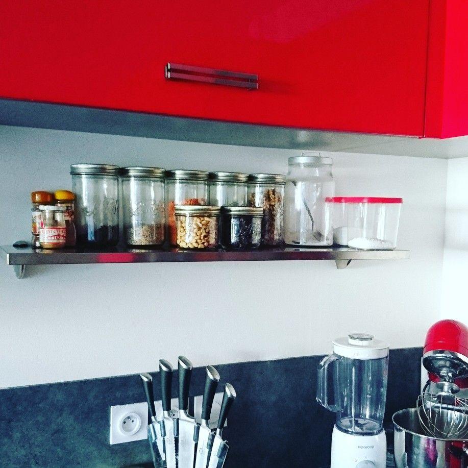Étagères à bocaux dans la cuisine : Bocaux le parfait Étagères