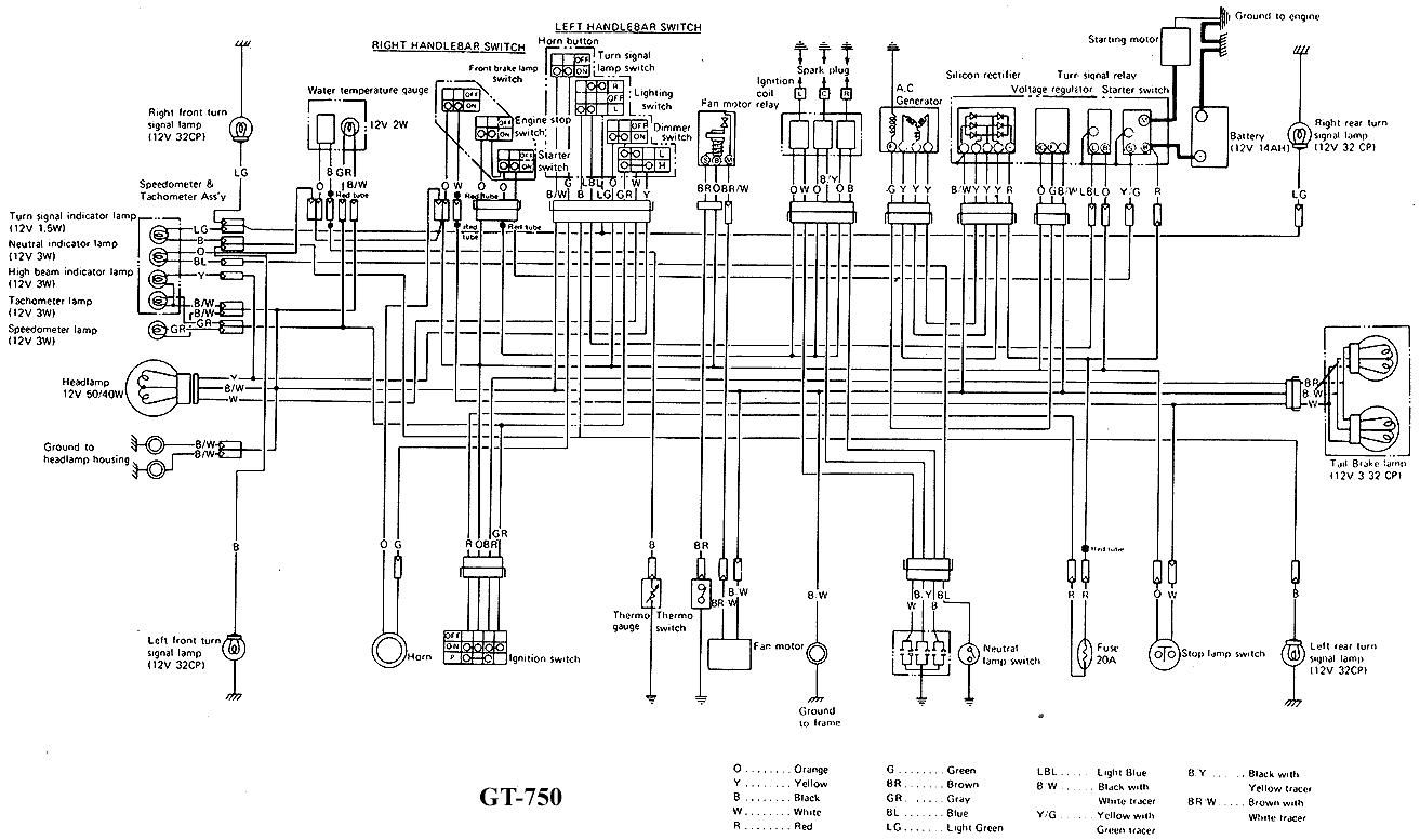 91 Nighthawk 750 All Electrical Componants Yahoo Image Search Results Diagram Motorcycle Wiring Electrical Wiring Diagram