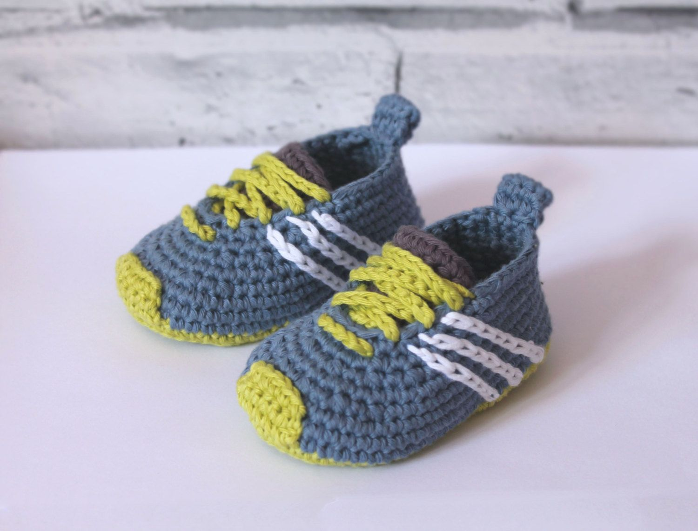 Crochet PATTERN | Babyschühchen, Häkelanleitung babyschuhe und ...