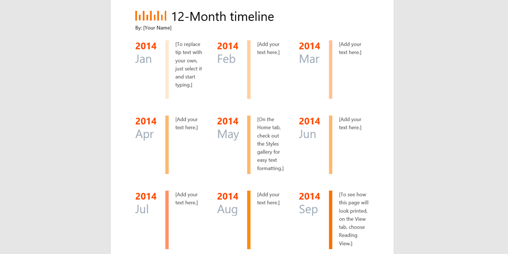 Timeline Template  Daily Scrum Timeline  Process Street