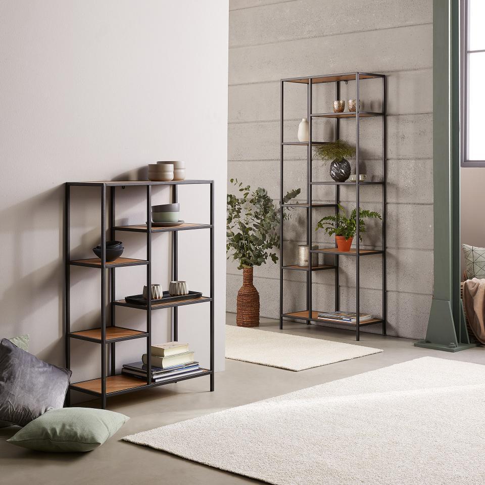Pin Von Danisches Bettenlager Gmbh C Auf Industrial Style Offenes Regal Regal Haus