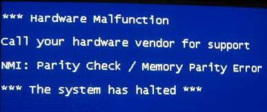 How To Fix Nmi Hardware Failure Error On Windows 10 8 1 And 8