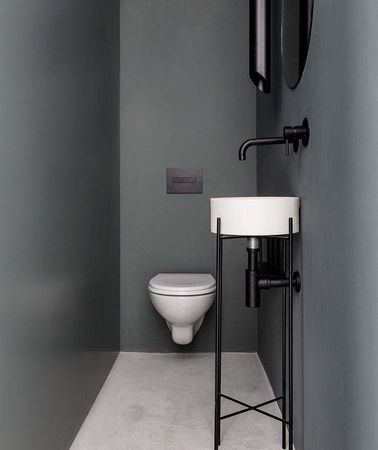Bano Minimalista Toilette Design Idee Salle De Bain Deco Toilettes
