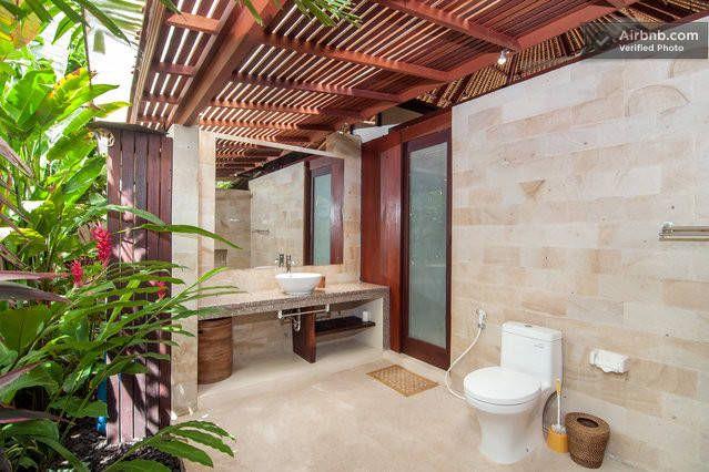 Bali Harmony Villas  Luxury Outdoor Bathrooms Http New Luxury Outdoor Bathrooms Design Ideas