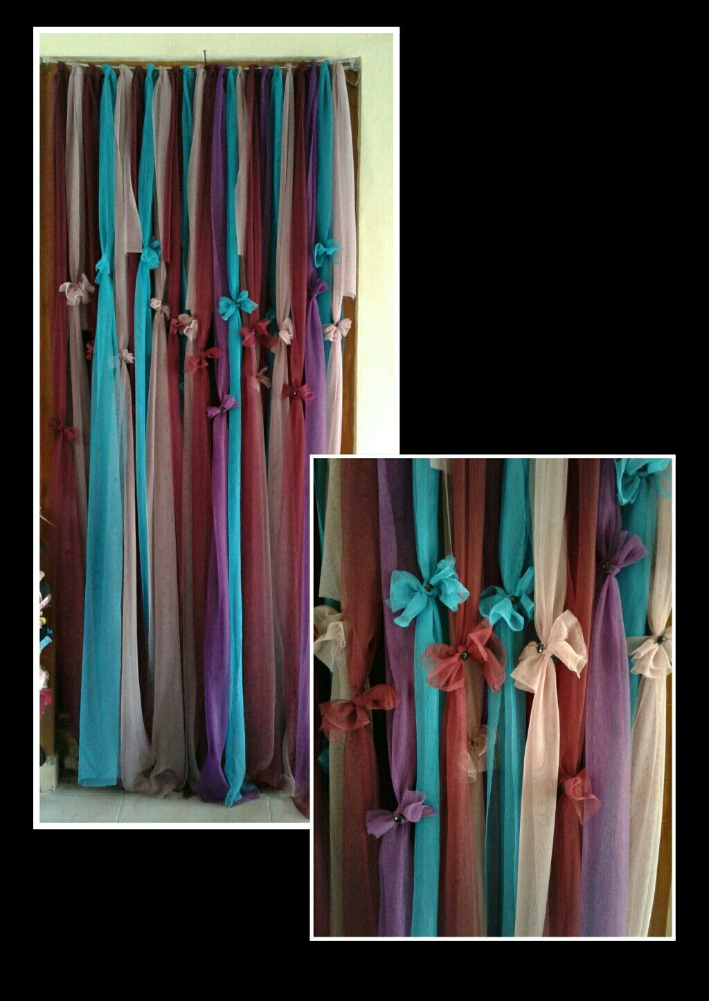 Gambar Korden Korden Dari Kain Tyle Perca My Tailor Boutique Decor