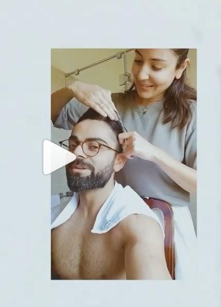 Here's a video of Anushka Sharma and Virat Kohli that'll