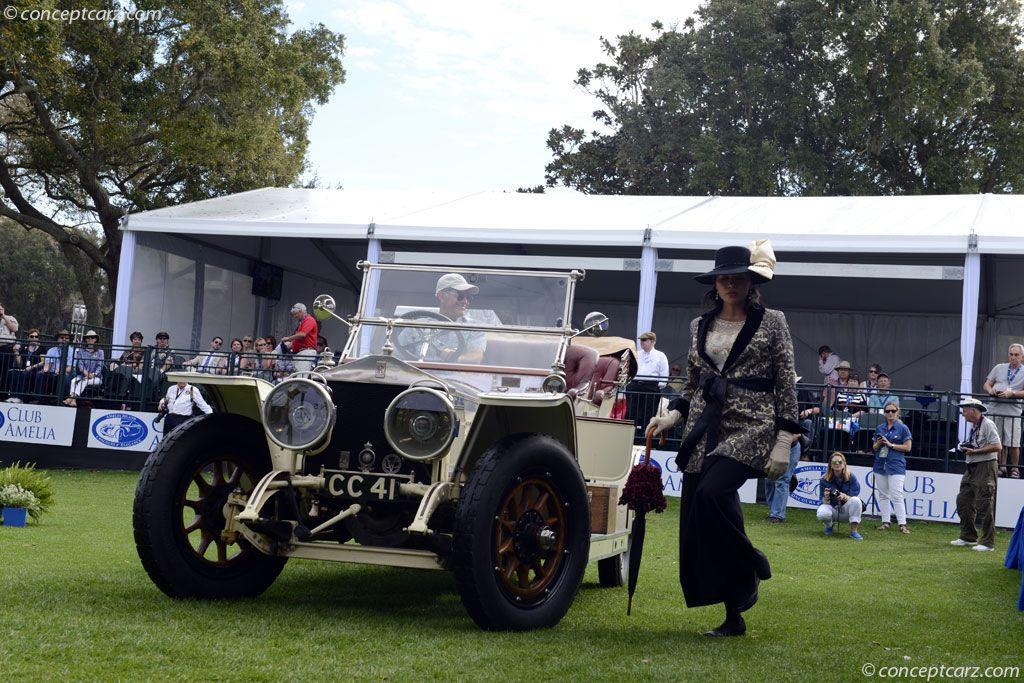 1912 Rolls-Royce Silver Ghost at the Amelia Island Concours d'Elegance