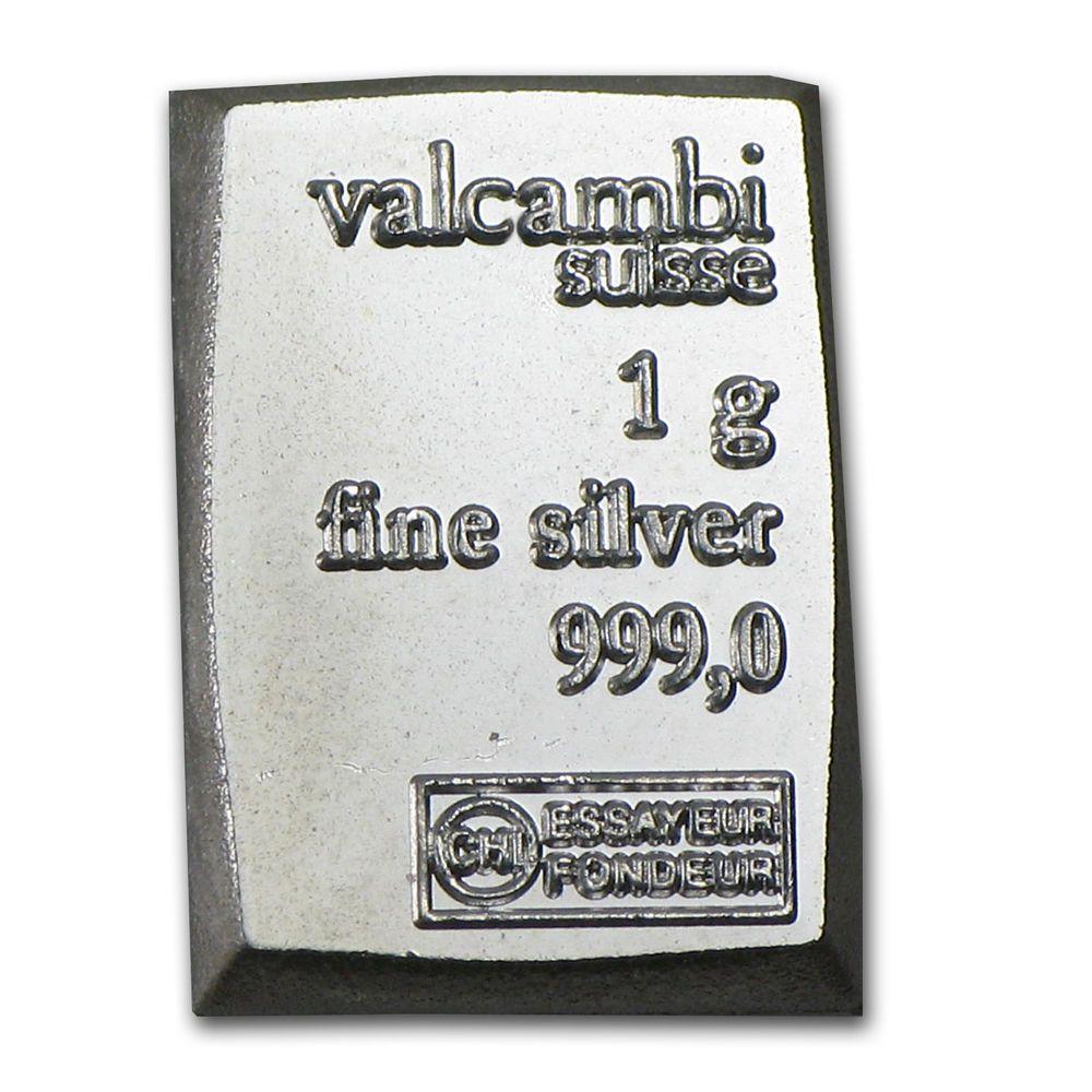 1 Gram Silver Bar Secondary Market Sku 59779