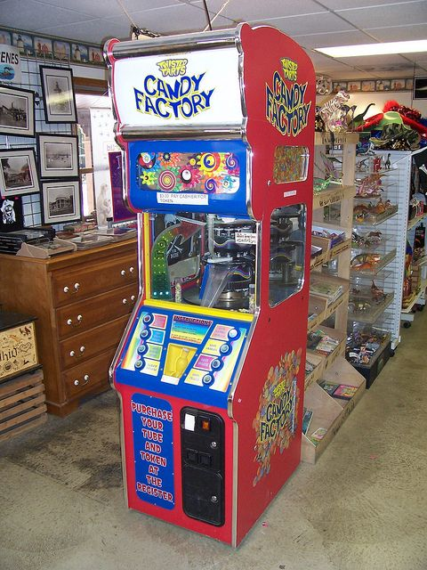 Candy Factory Vending Machine by The Upstairs Room, via Flickr