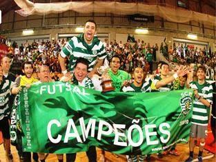 Aposto que ganhamos: SPORTING, CAMPEÃO DE FUTSAL
