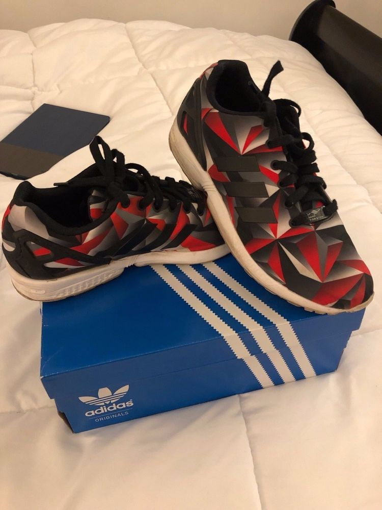 89da083b74726 Adidas ZX Flux S81650 Red Black Silver Size 9  fashion  clothing  shoes   accessories  mensshoes  athleticshoes (ebay link)