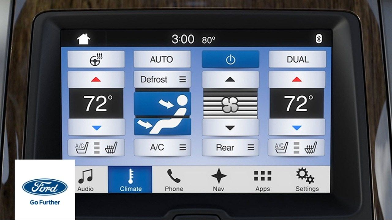 SYNC 3 Climate Comfort Adjustments Sync, Ford, Buy truck