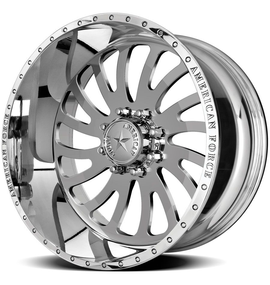American force wheels octane ss8 polished