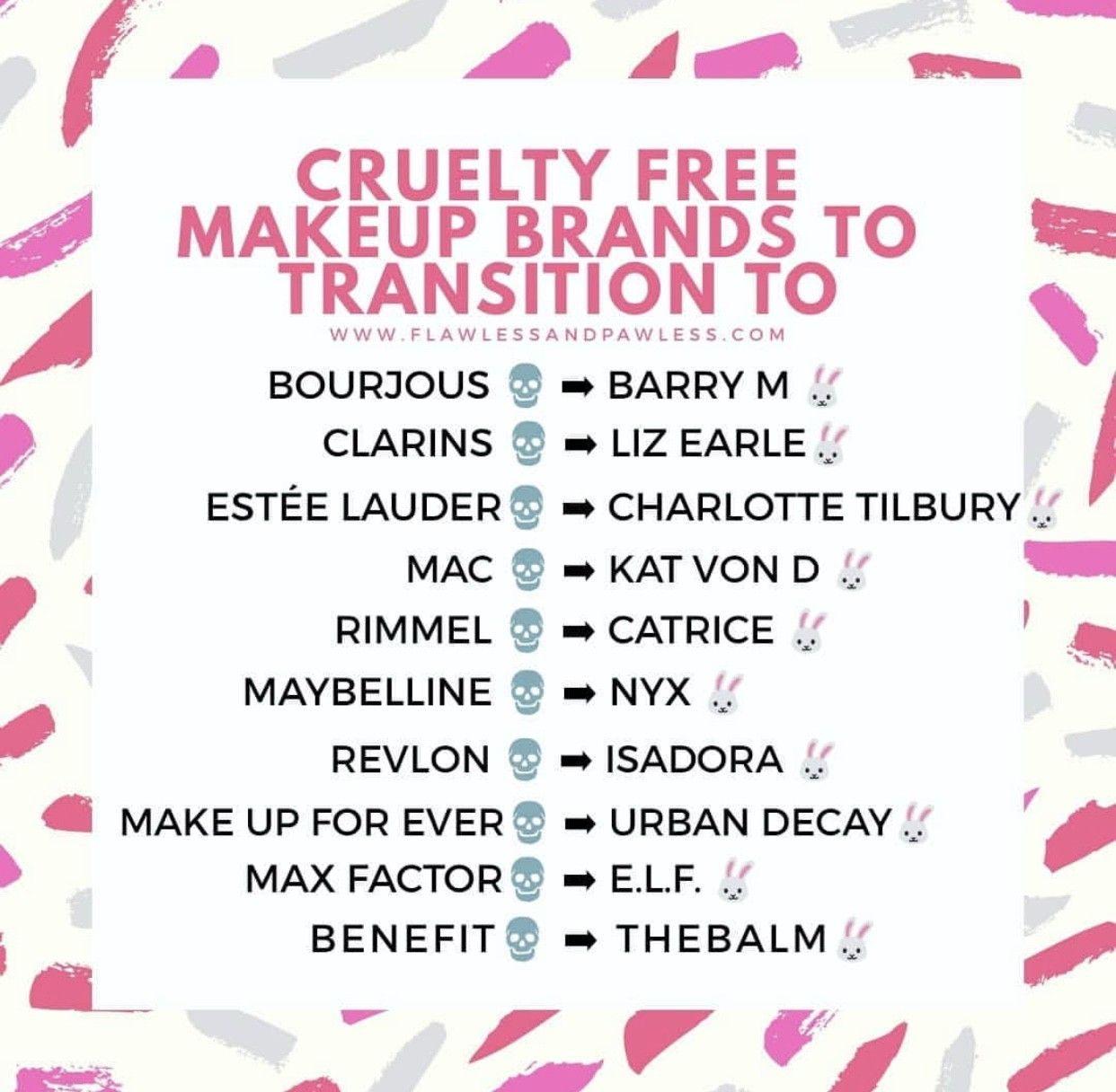 Pin by Leah H. Hong on Cruelty Free Makeups Cruelty free
